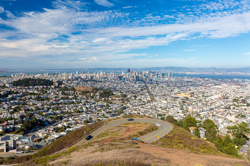 san francisco twin peaks day