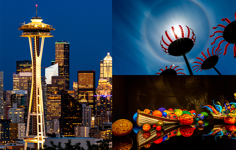 Seattle Part 3: Space Needle, Chihuly Garden & Glass, Kerry Park and more!